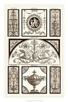 Sepia Pergolesi Panel III Giclee