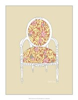 """Decorative Chair I by Chariklia Zarris - 14"""" x 18"""""""