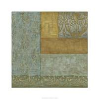 Mediterranean Tapestry I Framed Print