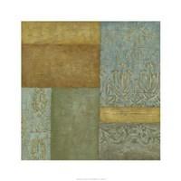 "Mediterranean Tapestry II by Chariklia Zarris - 24"" x 24"""