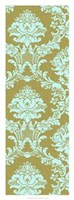 "Vivid Damask In Gold I by Vision Studio - 14"" x 38"""