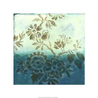 """Cerulean Dream I by Megan Meagher - 22"""" x 22"""" - $45.49"""