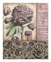 """Cottage Rose I by Megan Meagher - 18"""" x 22"""""""