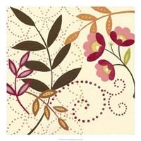 "Berry Blossom I by Vision Studio - 22"" x 22"""