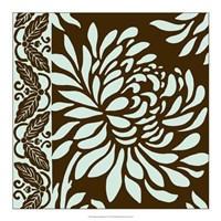 """Striking Chrysanthemums II by Nancy Slocum - 18"""" x 18"""""""