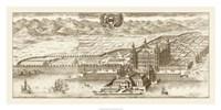 Sepia Arxskogkloster Giclee
