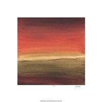 "Abstract Horizon I by Ethan Harper - 18"" x 18"""