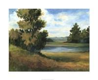 """Auburn Meadow by Ethan Harper - 34"""" x 28"""", FulcrumGallery.com brand"""