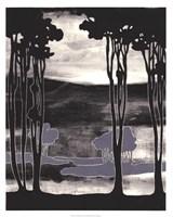 Nouveau Landscape I Framed Print