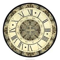 "Vintage Motif Clock by Vision Studio - 22"" x 22"""
