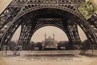 La Base de la Tour Eiffel Fine Art Print
