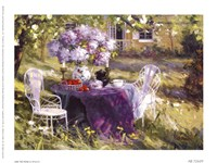 "Lilac Tea Party by Benjamin - 8"" x 6"""