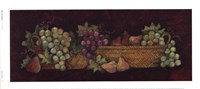 Figs And Grapes Fine Art Print