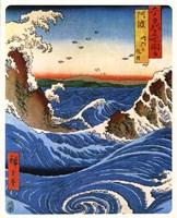 "Hiroshige - Narruto Rapids by Gerard Paul Deshayes - 8"" x 10"""
