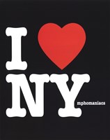 "I Love Nymphomaniacs by Gerard Paul Deshayes - 8"" x 10"""