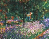 The Artist's Garden at Giverny (green trees), 1900 by Claude Monet, 1900 - various sizes