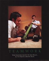 "Teamwork - Bongtastic by Gerard Paul Deshayes - 8"" x 10"", FulcrumGallery.com brand"