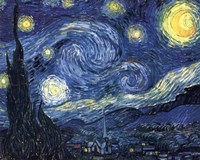 The Starry Night, 1889 by Vincent Van Gogh, 1889 - various sizes