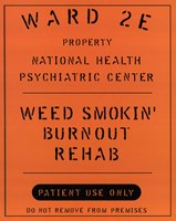 "Weed Smokin' Burnout by Gerard Paul Deshayes - 8"" x 10"""