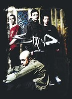 """Staind - Group Shot by Gerard Paul Deshayes - 40"""" x 55"""""""