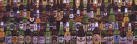 """Beers of the World by Gerard Paul Deshayes - 36"""" x 12"""""""