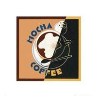 """Mocha - Coffee by Gerard Paul Deshayes - 16"""" x 16"""""""