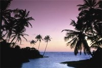 "Hikkaduwa Beach by Gerard Paul Deshayes - 36"" x 24"", FulcrumGallery.com brand"