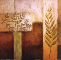 Abstract Foliage II Fine Art Print