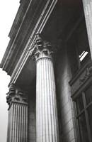 Columns At Entry Fine Art Print
