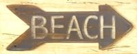 """Beach by Grace Pullen - 20"""" x 8"""""""