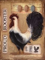 Proud Rooster Fine Art Print