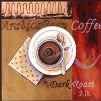 Dark Roast Fine Art Print