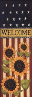 Patriotic Welcome Fine Art Print