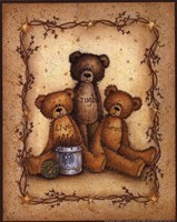 Bear Wisdom Framed Print