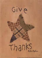 """Give Thanks by Lori Maphies - 5"""" x 7"""""""