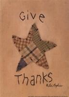 Give Thanks Framed Print