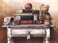 Nightstand Menagerie Fine Art Print
