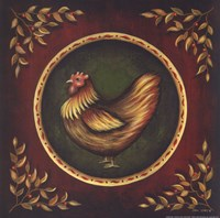 "Humble Hen by John Sliney - 12"" x 12"""