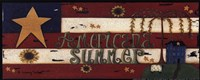 Americana Summer Framed Print