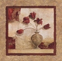 "Cinq Tulipes by Charlene Winter Olson - 12"" x 12"""