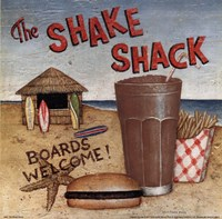 """Shake Shack by David Carter Brown - 10"""" x 10"""""""