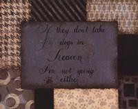 Dogs In Heaven Fine Art Print