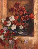 """Flores De Espana I by Linda Wacaster - 22"""" x 28"""", FulcrumGallery.com brand"""