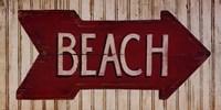 To The Beach Fine Art Print