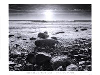 Sun Surf and Rocks Fine Art Print