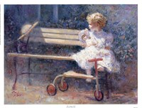 The Antique Doll Fine Art Print