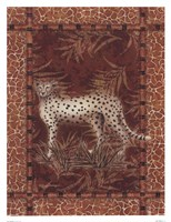 Lone Cheetah Framed Print