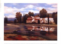Village Reflection Fine Art Print