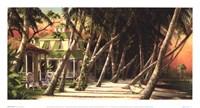 Island House Fine Art Print