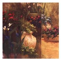 """Flower Pots Right by Art Fronckowiak - 26"""" x 26"""" - $24.99"""